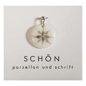 Kette Anhänger Kettenanhänger Porzellan Design Birgit Schön