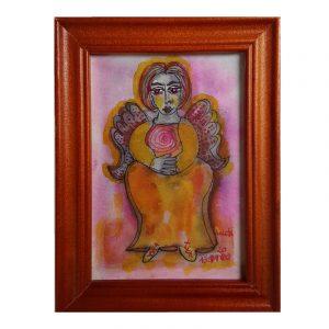 Engel Barock Malerei Gemälde Engelsflügel