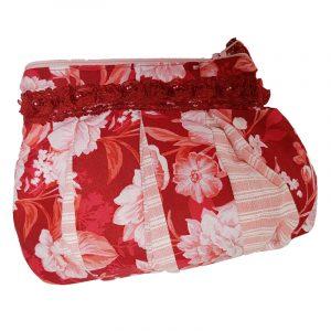 Tasche Untensilien rot Spitze