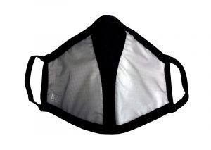 Maske Corona silber Mund Nase Schutz Covid