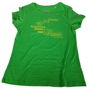 Shirt Fichtelgebirge Kleidung Hufeisen